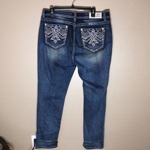 Grace in LA Aztec jeans easy fit size 34